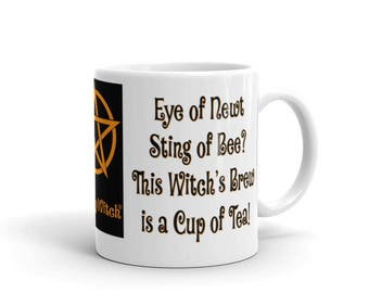 Eye of Newt, Sting of Bee? This Witch's Brew is a Cup of Tea! Cheeky Witch® Mug