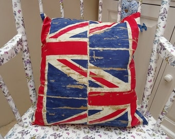 18 inch Union Jack Cushion Cover.