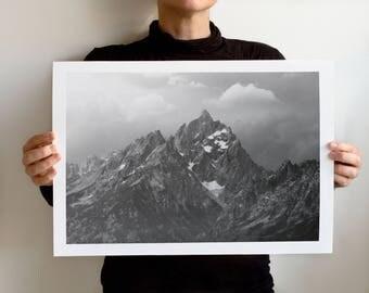 Grand Teton 1048 Art Print, Grand Teton National Park, Wyoming Landscape