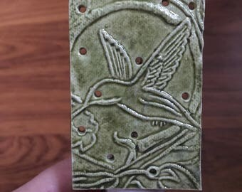 Hummingbird nightlight green or sage