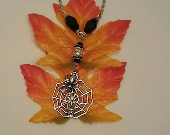 Spider Web Necklace, Free Shipping