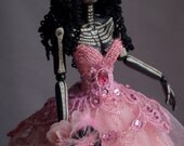 Gothic art doll: Antoinette of the Dead. Payment 2 of 3