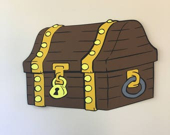 14 in Long Treasure Chest Decoration