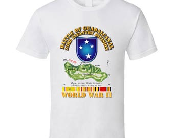 Army - 23rd Infantry Division - Wwii - Guadalcanal T-shirt