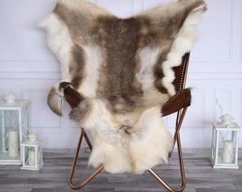 reindeer hide reindeer rug reindeer skin xl large throw large style