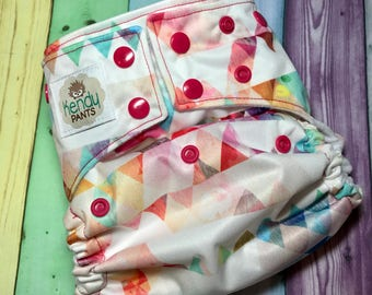 READY to SHIP! Party-angles! OS Pocket Diaper!