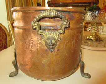 COPPER POT with HANDLES