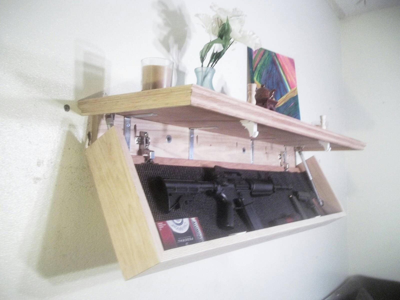 Oak 48 choose color hidden partment floating gun