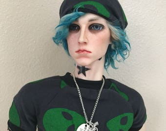 Zombie bjd necklace