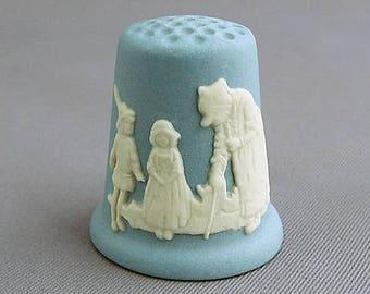 Wedgwood Thimble - Fairy Tale, Hansel and Gretel