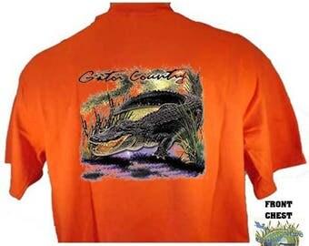 SWAMP WISE GATOR Country Alligator Hunt Redneck Southern T-Shirt