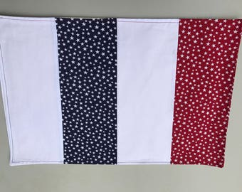 4th of July Placemats, Patriotic Placemats, Red White and Blue Placemats, 4th of July Decor, Independence Day, Table Placemats