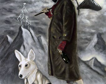 The Fool Original Oil Painting