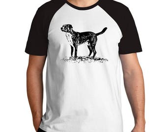 Dog sketch Raglan T-Shirt
