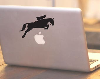 Equestrian Sticker Equestrian Rider Decal Equestrian Decal Car Laptop Vinyl Decal Sticker Horse Sticker