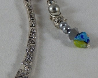 Unique Heart Charm Bookmark