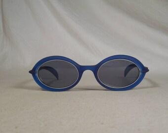 fabulous vintage sunglasses lunettes eyeglasses KENZO carved frame france