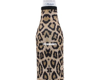Leopard Bottle Cooler