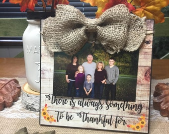 There is always something to be thankful for , Grandparents Gift, New Parents, New Baby, Pregnancy Reveal