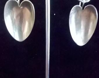 Creative Recycling Earrings in Silver 800