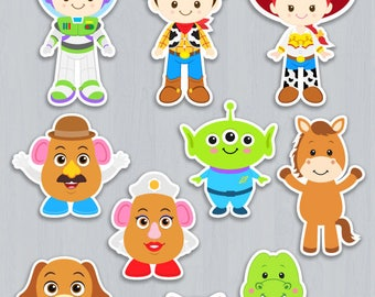 Toy Story Centerpiece, Toy Story Table Centerpiece, Toy Story Cake Topper, Toy Story decoration, Toy Story Wall Decor