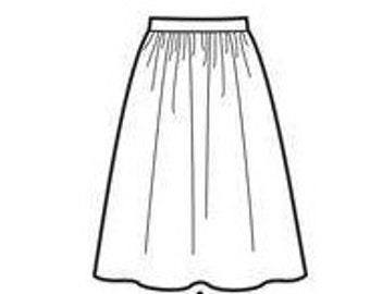 Basic Gathered Skirt