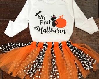 my fist halloween, girl halloween, Happy Halloween, Halloween
