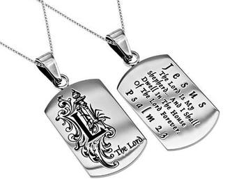 "Absolute Necklace ""Psalm 23"""