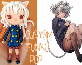 Custom Character Funko Pop Styled Figure COMMISION Any Videogame Anime Series Comics or Real People!