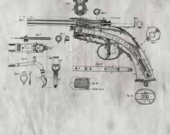 Magazine Fire Arm Patent #105093 dated July 5, 1870.