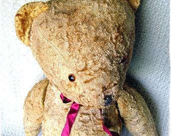 Boribon - old Soviet Teddy bear - renewed