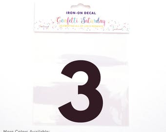 Decal Th Birthday Sixth Birthday    Th - Custom vinyl decals numbers for shirts