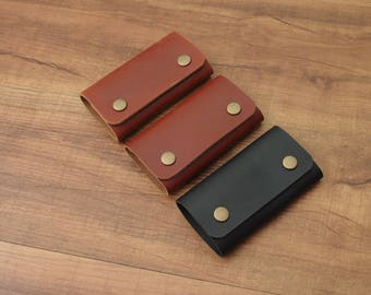 Leather Key Case, Car Key Cover, Car Key Holder, Car Key Ring, Custom Key Holder, Key Bag, Key Pouch, Personalized Key Holder, Key Holder