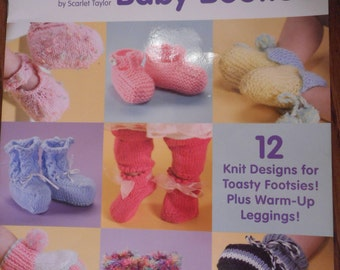 A Dozen Darling Baby Booties to Knit