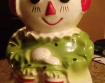 "RAGGEDY ANN""  Cookie  Jar  Real ""McCoy"" 151"