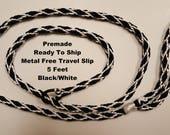 PREMADE Metal Free Travel Slip Lead Ready To Ship