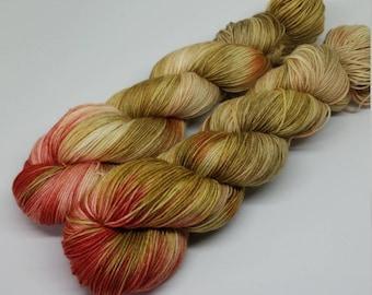 How Fair is the Rose - Platinum Sock Yarn - Superwash Merino + Nylon - 75/25 - Ready to ship