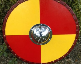 Viking Shield with spiked shield boss