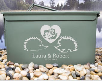 Hedgehogs, In love Ammo Can, Anniversary