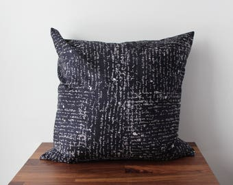 Handwritten Throw Pillow