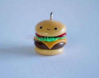 Polymer Clay Cheeseburger