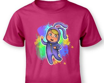 Bunny Girl baby t-shirt