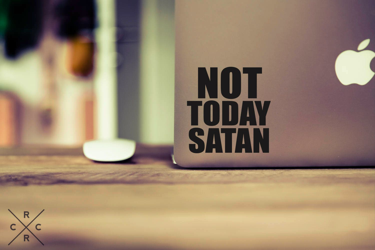 Not Today Satan Decal Funny Decals Funny Stickers Vinyl