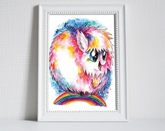 Print ~ My Little Pony ~ Fluffle puff