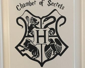 Harry Potter Chamber of Secrets Vinyl Wall / Door Decal