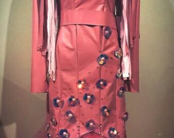 Dusty Pink Rodeo Queen Dress