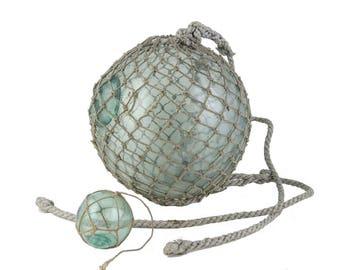 Large Size, Japanese Vintage Glass Fishing Float, Glass ball, Hokkaido