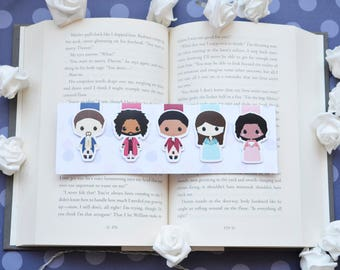 Hamilton the musical magnetic bookmarks
