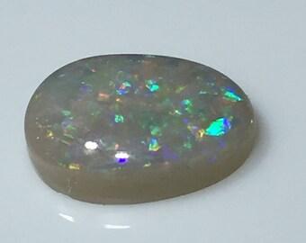 White Australian Opal