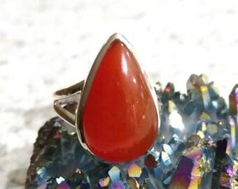 Carnelian Ring Size 6
